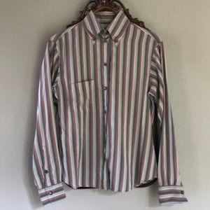 Striped Silk Paul Smith Button Down